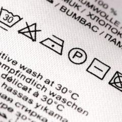 洗濯ラベル、品質表示タグなどの格安生産