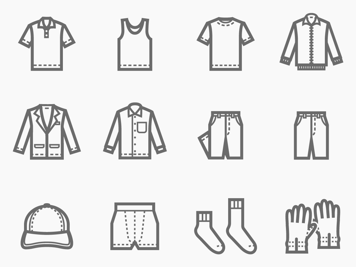 Tシャツ パンツ 帽子 バッグなどの複数混ざった商品にも対応